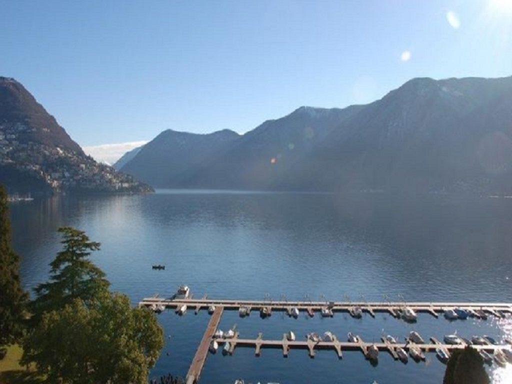 Vendita attico Lugano imprendibile vista lago