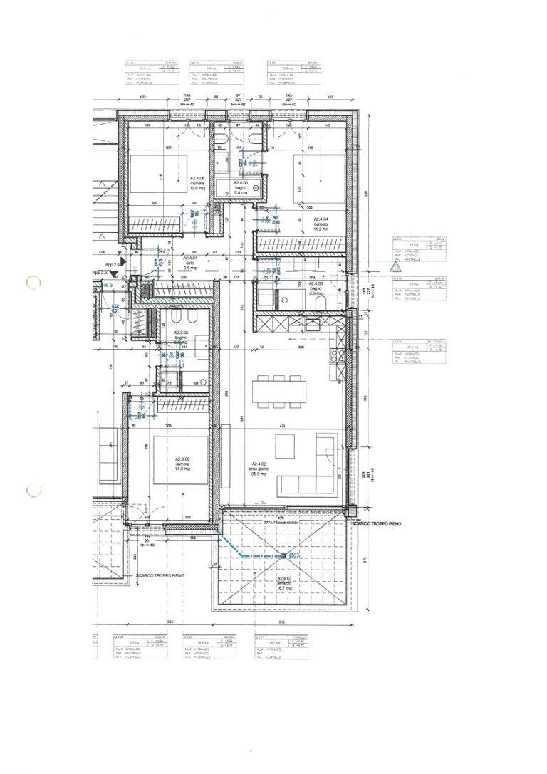 Affitto appartamento a Gravesano - Strada Regina -piantina