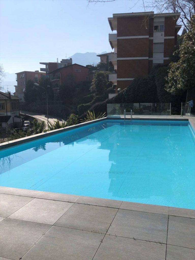 011 Vendiamo appartamento Lugano-Besso Piscina