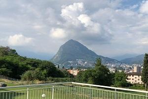 Affitto a Pregassona - Viale Cassone 36 - Vista