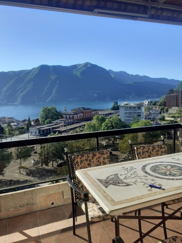 1-Vendiamo appartamento Lugano - Vista