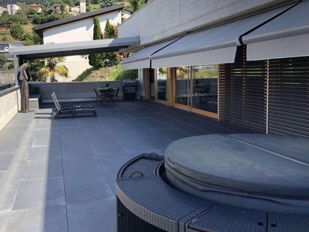 4-Vendiamo appartamento Morbio - Terrazza