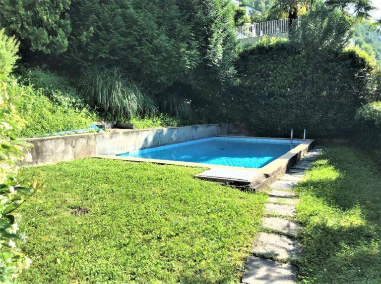 8 Affitiamo Ruvigliana piscina